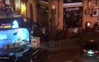 В Киеве произошла массовая драка с поножовщиной и стрельбой