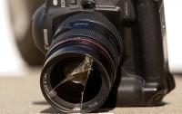 Неизвестные напали на съемочную группу одного из телеканалов в Киеве