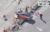 Кровавый дрифт: В Японии спорткар врезался в толпу зрителей