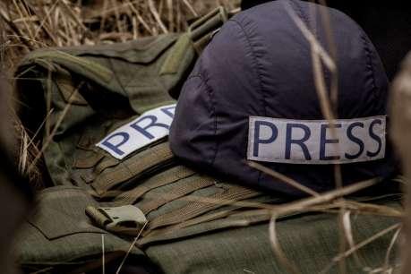 Журналисты возмущены запретом работать на передовой