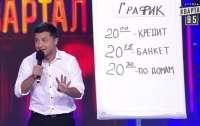 Большинство украинцев хотят снова отправить Зеленского играть в скетч-шоу
