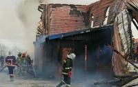 В Ивано-Франковской области полностью сгорел мужской монастырь