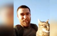 На Николаевщине простились с погибшим бойцом (видео)