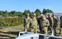 В ВСУ показали полеты беспилотников на Донбассе (видео)