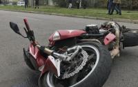 ДТП в Днепре: женщина попала под колеса мотоцикла