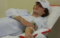 «Молодые регионы» провели благотворительную акцию по сдаче крови в больнице «ОХМАТДЕТ»
