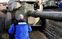 В ОБСЕ зафиксировали исчезновение военной техники на Донбассе