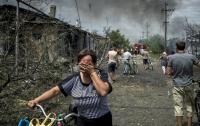 Боевики на Донбассе вломились в дом и стреляли по его жителям