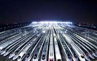 В Китае вышла из строя железная дорога