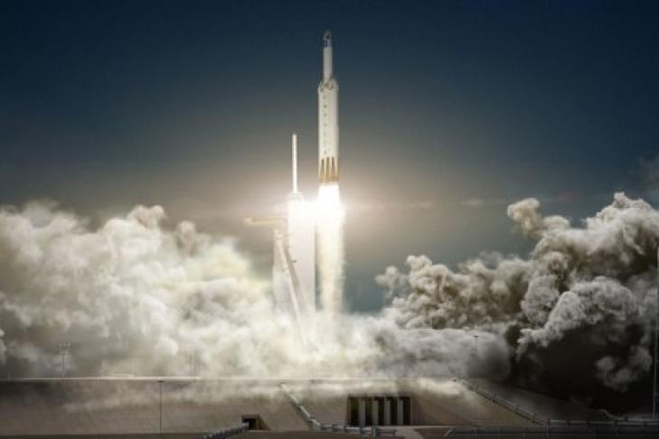 SpaceX завершила тестирования первой степени Falcon Heavy