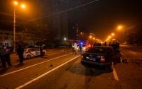 В Днепре полицейские попали в ДТП, пострадал правоохранитель (видео)
