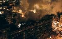 Пожар в киевском доме ликвидирован:
