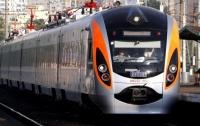 Под Полтавой поезд