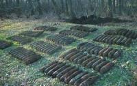 Мужчина искал металлолом, а обнаружил большой арсенал боеприпасов