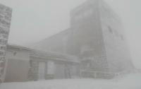 Погодные аномалии: на высокогорье Карпат выпал снег и ударили морозы