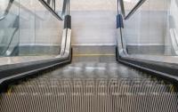 В харьковском метро эскалатор