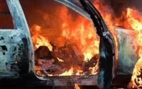 В Киеве подожгли автомобиль