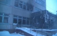 На Харьковщине горел санаторий