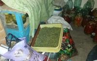На Донбассе у семейного дебошира изъяли наркотики и патроны