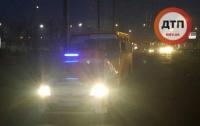 Киев: водитель маршрутки устроил нешуточные гонки