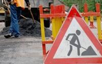 Где в столице перекроют движение из-за ремонта дорог
