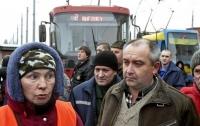 Черновцы: транспортники устроили забастовку