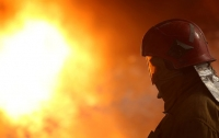 Сегодня ночью горел харьковский торговый центр