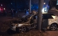 ДТП в Киеве: На проспекте Победы автобус
