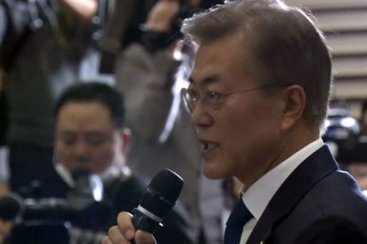 ВЮжной Корее напрезидентских выборах победил демократ— экзит-поллы