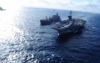 ВМС США и Южной Кореи начали учения у берегов Корейского полуострова