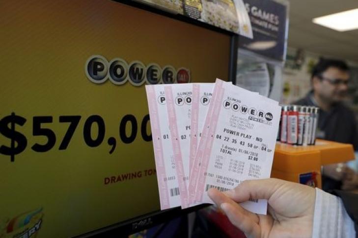 ВСША был продан выигрышный лотерейный билет на560 млн долларов