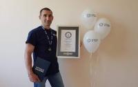 Украинец попал в мировую Книгу рекордов Гиннеса