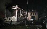 В Карпатах сгорел храм Архистратига Михаила