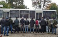 В Киеве задержали незаконных мигрантов