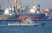 Украинские ВМС испытали в открытом море катера типа Island
