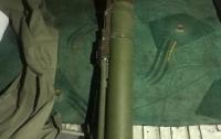 Львовянин пытался продать реактивный противотанковый гранатомет