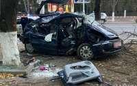 На Одесщине в страшном ДТП пострадала компания молодежи (видео)