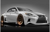 Lexus IS – агрессия и роскошь