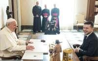 Зеленский: Папа Римский назвал меня