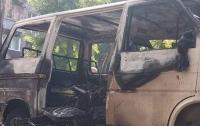 Под Днепром взорвался автобус с депутатом (видео)