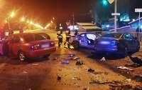 В Днепре произошло ДТП с участием пяти автомобилей, есть погибший