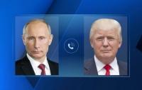Трамп и Путин час обсуждали Украину