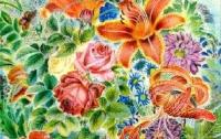 Картины украинской художницы будут выставлены в
