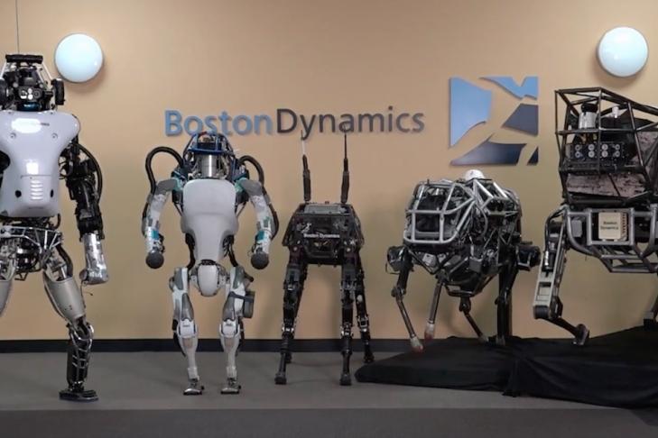 Boston Dynamics представила двухколесного робота