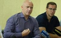 Мэр Одессы Геннадий Труханов встретился с родителями детей, отдыхавших в