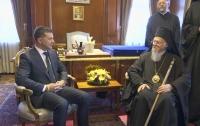 Зеленский пообщался с Варфоломеем, который поддержал Украину