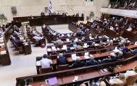 Кнессет Израиля принял закон о самороспуске и новых выборах