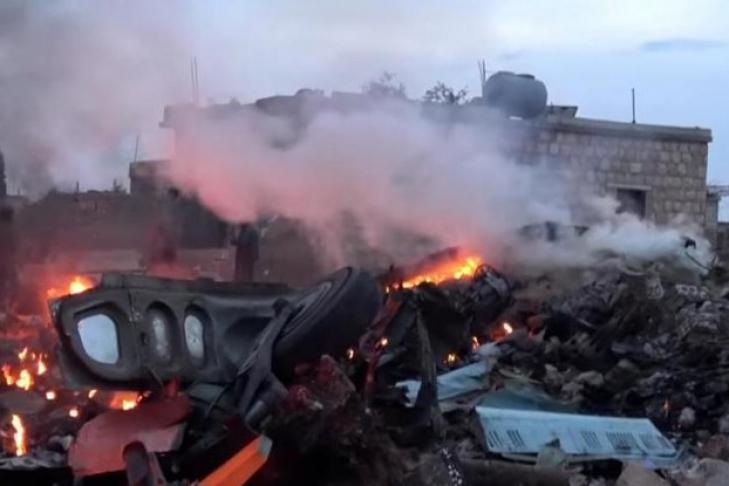 Размещены кадры последнего боя пилота сбитого Су-25