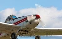 У пассажирского самолета во время полета отвалился пропеллер
