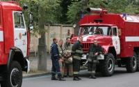 Мужчина едва не сгорел в заброшенном здании в Киеве